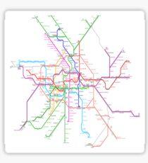 Berlin Metro Sticker