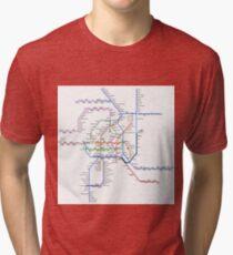 Vienna Metro Tri-blend T-Shirt