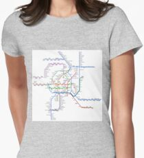 Vienna Metro Womens Fitted T-Shirt