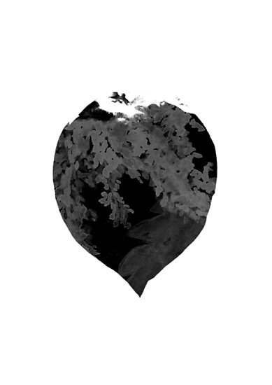 Nature's Heart by croppedcharcoal