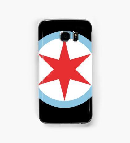 Captain Chicago (Clean) Samsung Galaxy Case/Skin