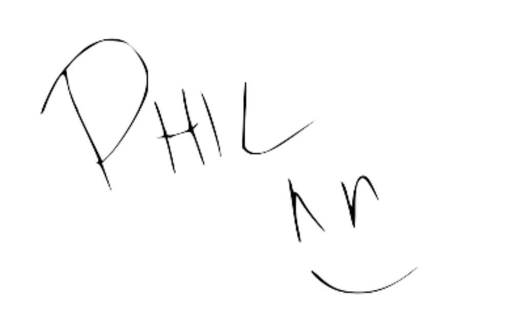 Phil Lester Autograph by vampirebanquet