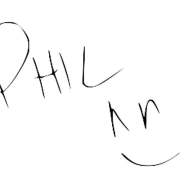 Phil Lester Autograph by vampirebanquet
