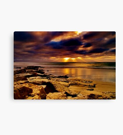 """Morningtide Mood"" Canvas Print"
