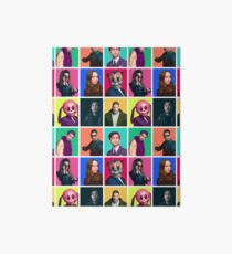 The Umbrella Academy - Character Collage Art Board Print
