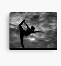Standing bow Canvas Print