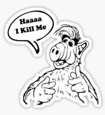 The Wisdom of ALF - Part Two Sticker