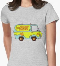 The Mystery Machine - design 3 Womens Fitted T-Shirt