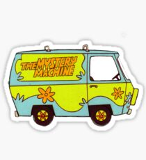 The Mystery Machine - design 3 Sticker