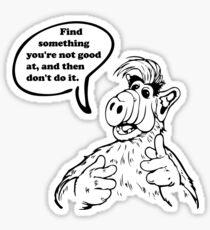 The Wisdom of ALF - Part Three Sticker