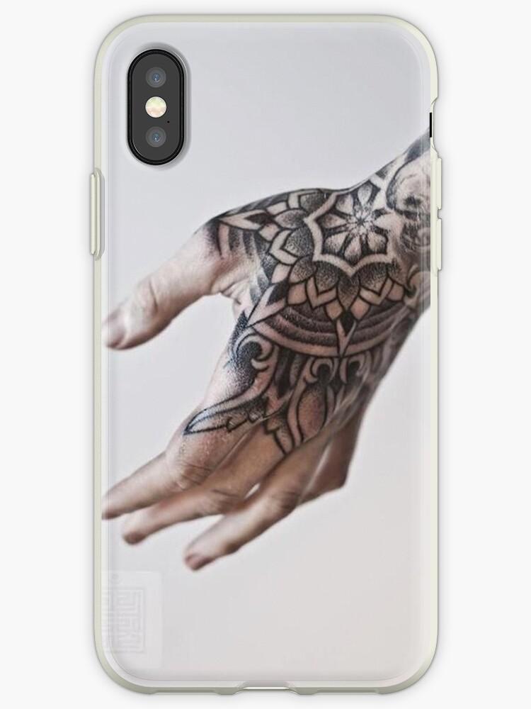 Hand Tattoo Phone Case by Jump3RKoae