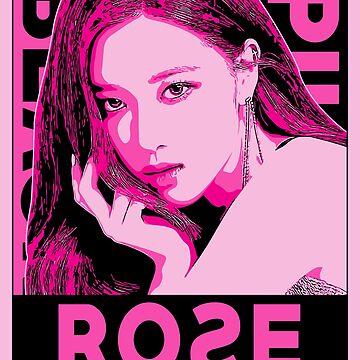 BlackPink KPop Rose by bigtimmystyle