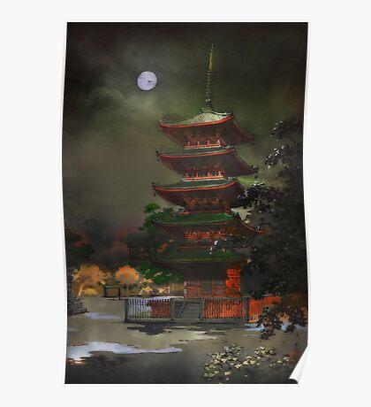 Kinryzuan Temple Poster