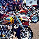 """""""Custom Motorcycle Groupies"""" by Gail Jones"""