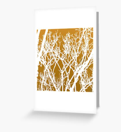 wriggly tree fingers  Greeting Card