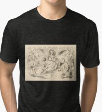Five Mice in a Mouse Trap Laura Elisabeth Howe Richards and Kate Greenaway 1881 0176 Singing Tri-blend T-Shirt