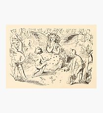 Five Mice in a Mouse Trap Laura Elisabeth Howe Richards and Kate Greenaway 1881 0176 Singing Photographic Print