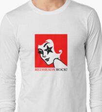Redheads Rock! Long Sleeve T-Shirt