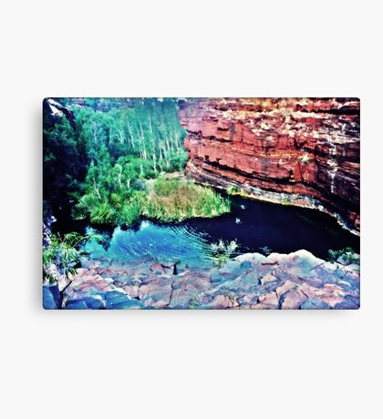 Simming Hole Canvas Print