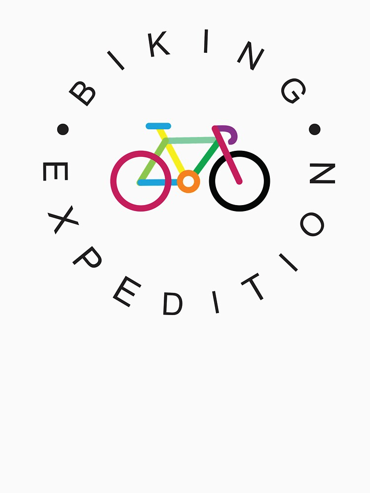 Cycling Bicycle Cycle Funny Cyclist Colorful  by 1001designs