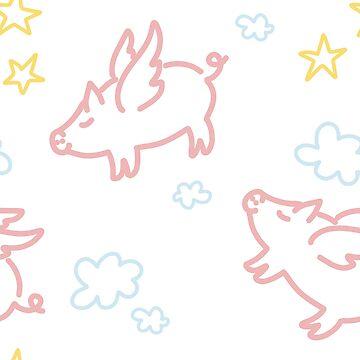 When pigs  fly by ilzesgimene