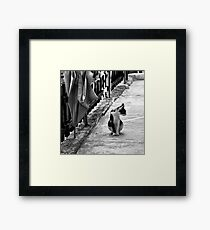 Are you talkin' to me? Framed Print