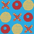 Breakfast TicTacToe by ThePencilClub
