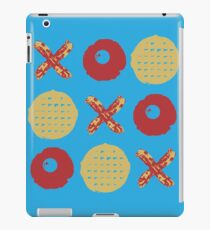 Breakfast TicTacToe iPad Case/Skin