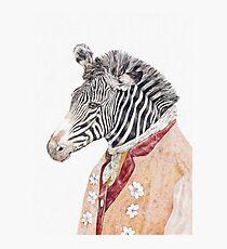 Zebra-Creme Fotodruck