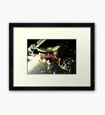 Click Go The Shears Framed Print