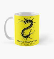 Der ORIGINAL-Flinke Navigator - Treten Sie nicht auf mich durch Centipede Nation Tasse (Standard)