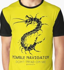 The ORIGINAL Nimble Navigator - Don't Tread On Me by Centipede Nation Graphic T-Shirt