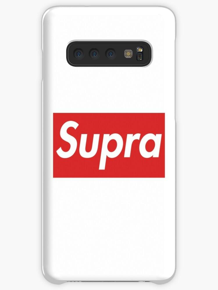 new styles 6b7aa ab526 'Toyota Supra Supreme logo' Case/Skin for Samsung Galaxy by DrobsonKanu