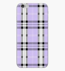 Lila Plaid iPhone-Hülle & Cover