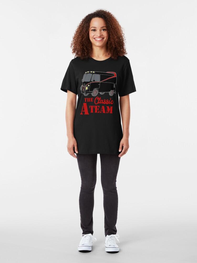 Vista alternativa de Camiseta ajustada The A Team