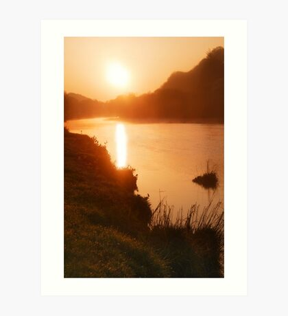 The morning after the Icelandic eruption 2 Art Print
