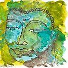 Maya Buddha by dkatiepowellart