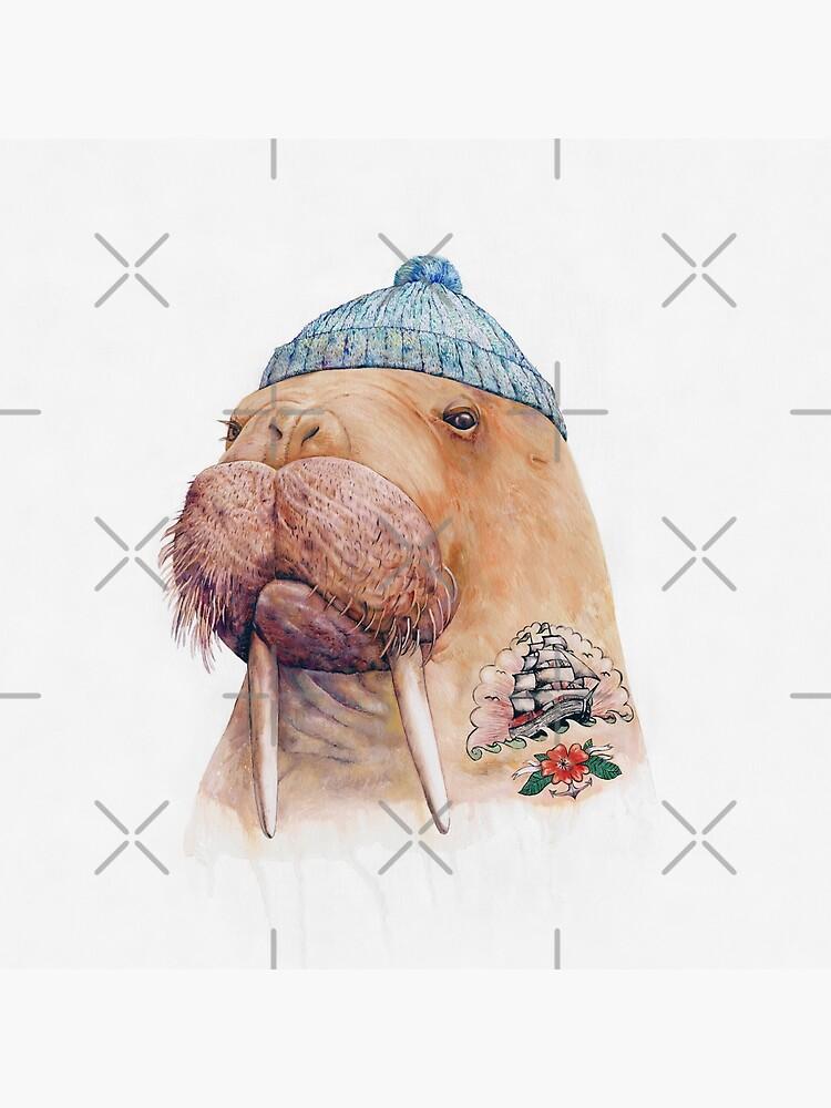 Tattooed Walrus by AnimalCrew