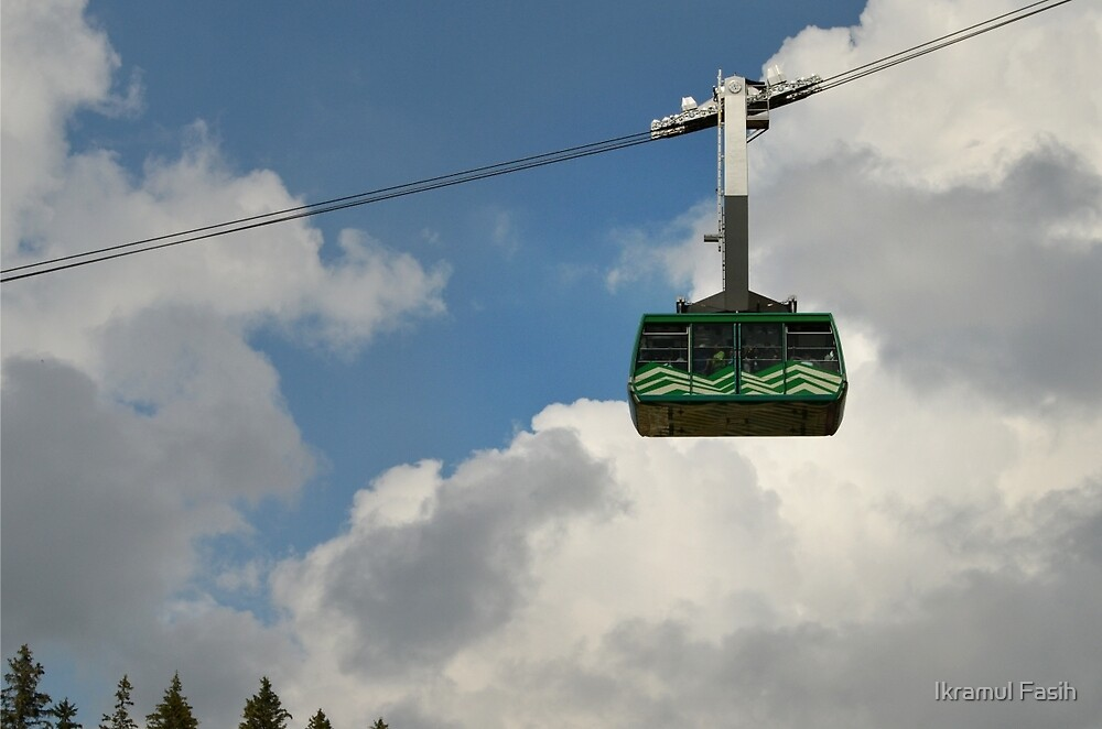 The Green Cable Car by Ikramul Fasih