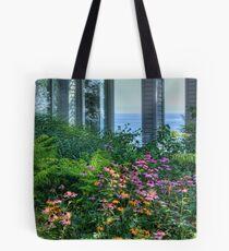 Garden on the Lake Tote Bag