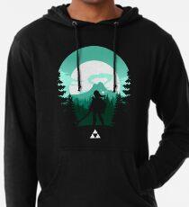 Sudadera con capucha ligera La leyenda de Zelda (verde)