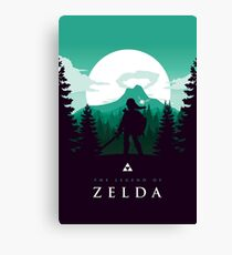 The Legend of Zelda (Green) Canvas Print