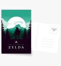 The Legend of Zelda (Green) Postkarten
