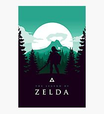 The Legend of Zelda (Green) Fotodruck