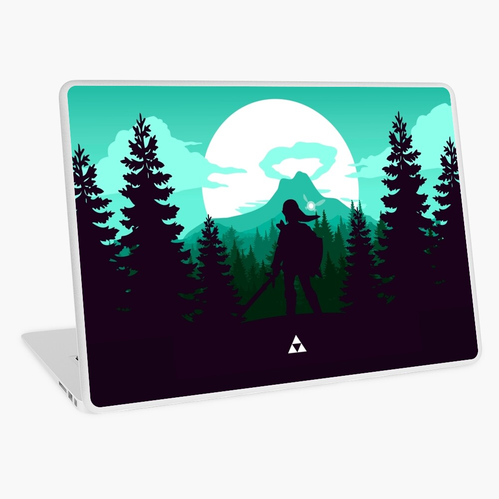 The Legend of Zelda (Green) Laptop Skin