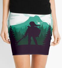 The Legend of Zelda (Green) Mini Skirt