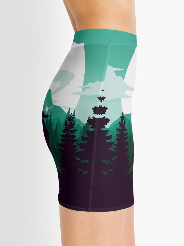 Alternate view of The Legend of Zelda (Green) Mini Skirt
