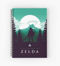 The Legend of Zelda (Green) Spiral Notebook