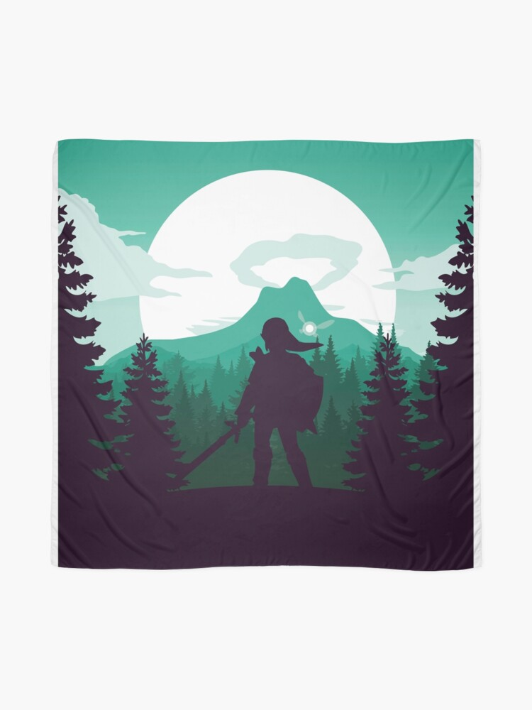Alternate view of The Legend of Zelda (Green) Scarf