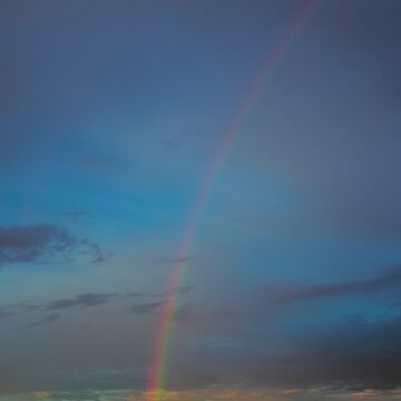 Rainbow in Fall by ShirleyTinkham
